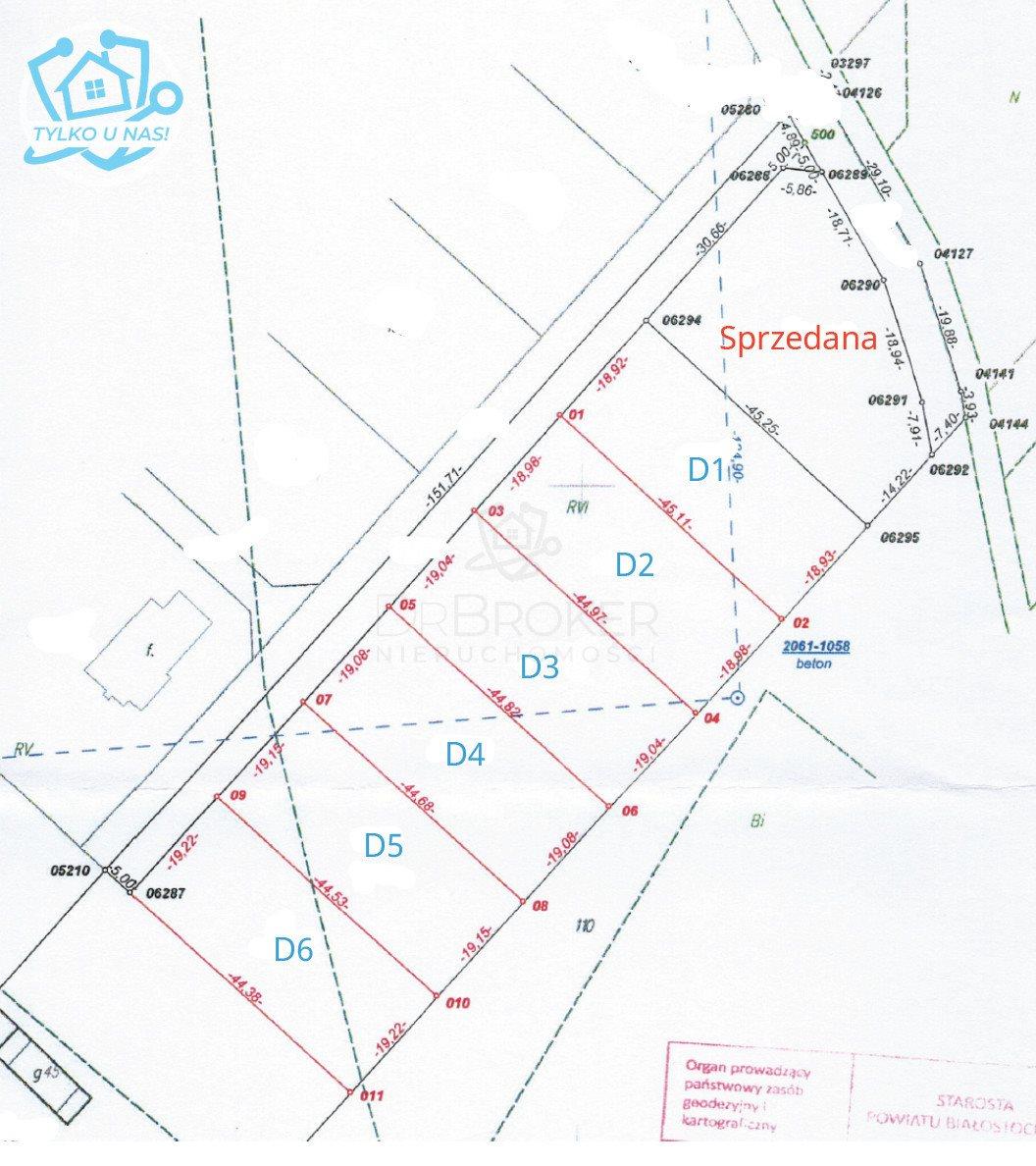 Działka budowlana na sprzedaż Niewodnica Kościelna, Lisia  850m2 Foto 1