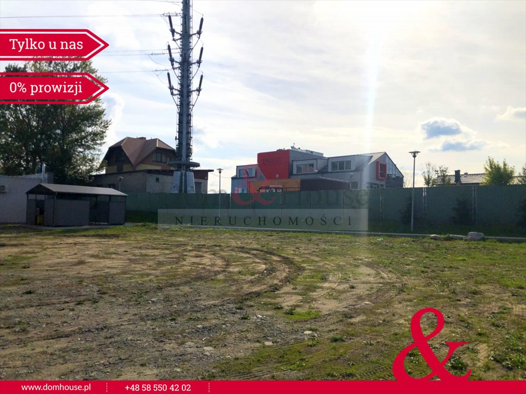 Działka przemysłowo-handlowa pod dzierżawę Gdańsk, Jasień, Orzechowa  1600m2 Foto 10