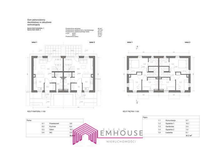 Dom na sprzedaż Nowe Bielice  63m2 Foto 2