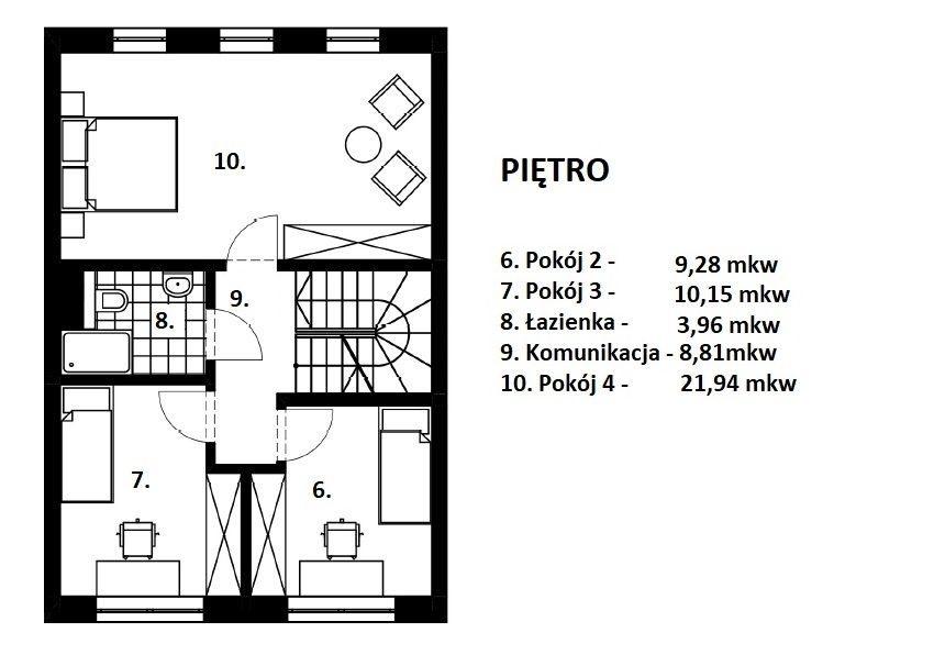 Dom na sprzedaż Wrocław, Fabryczna, Postępowa  151m2 Foto 5