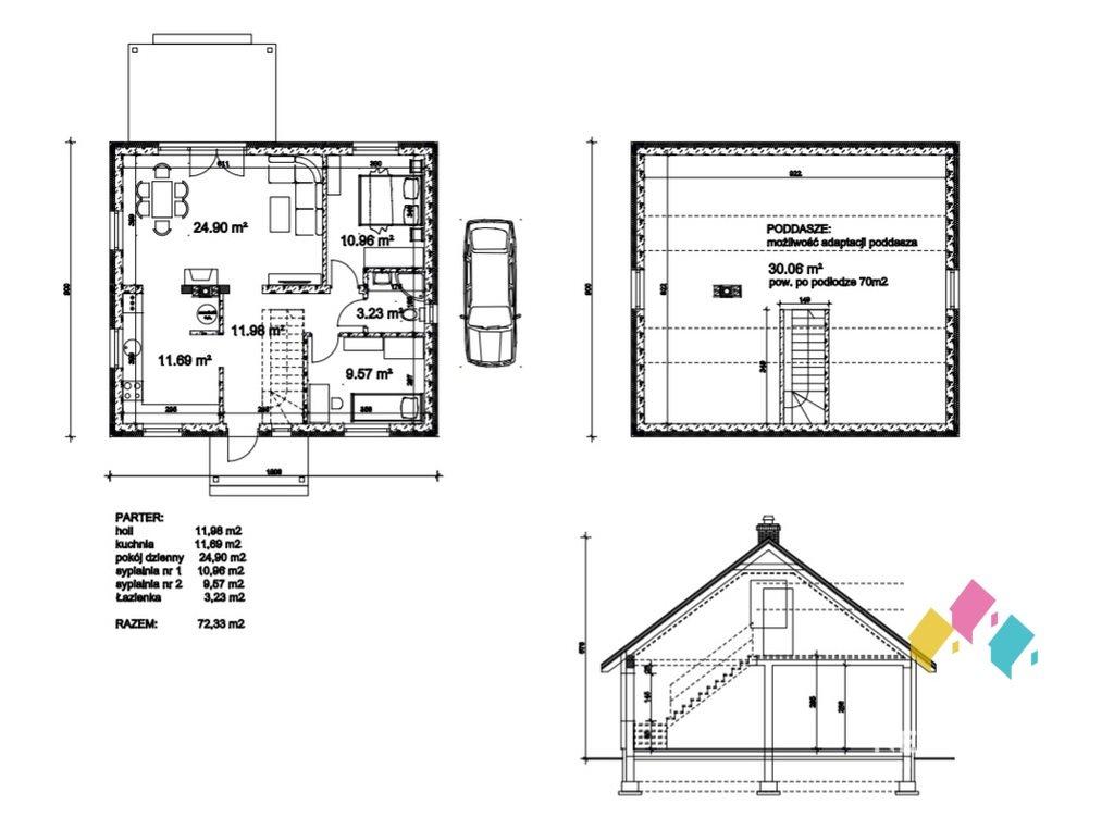 Działka budowlana na sprzedaż Rentyny  1048m2 Foto 4