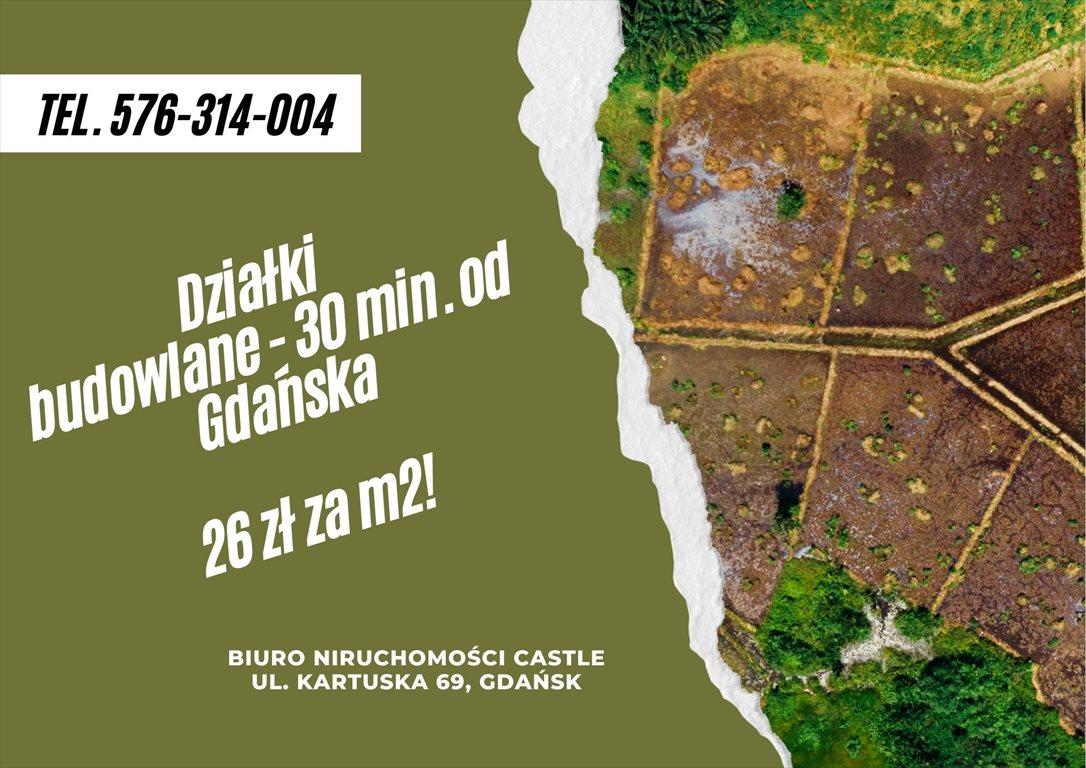 Działka budowlana na sprzedaż Błotnia  3001m2 Foto 1