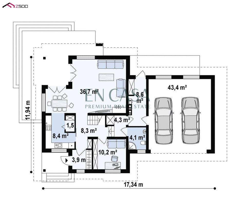 Dom na sprzedaż Umiastów, Leszczynowa  239m2 Foto 8