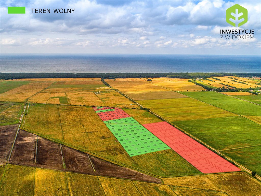 Działka rolna na sprzedaż Karwia, Atrakcyjnie położony teren  480m2 Foto 8