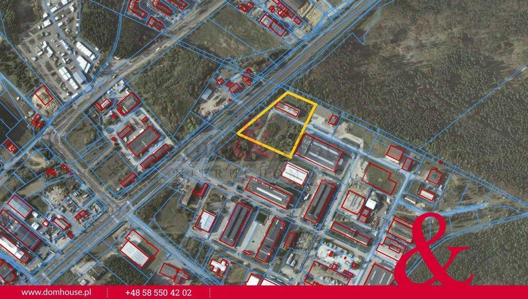 Działka przemysłowo-handlowa na sprzedaż Gdynia, Wielki Kack, Chwaszczyńska  17000m2 Foto 6