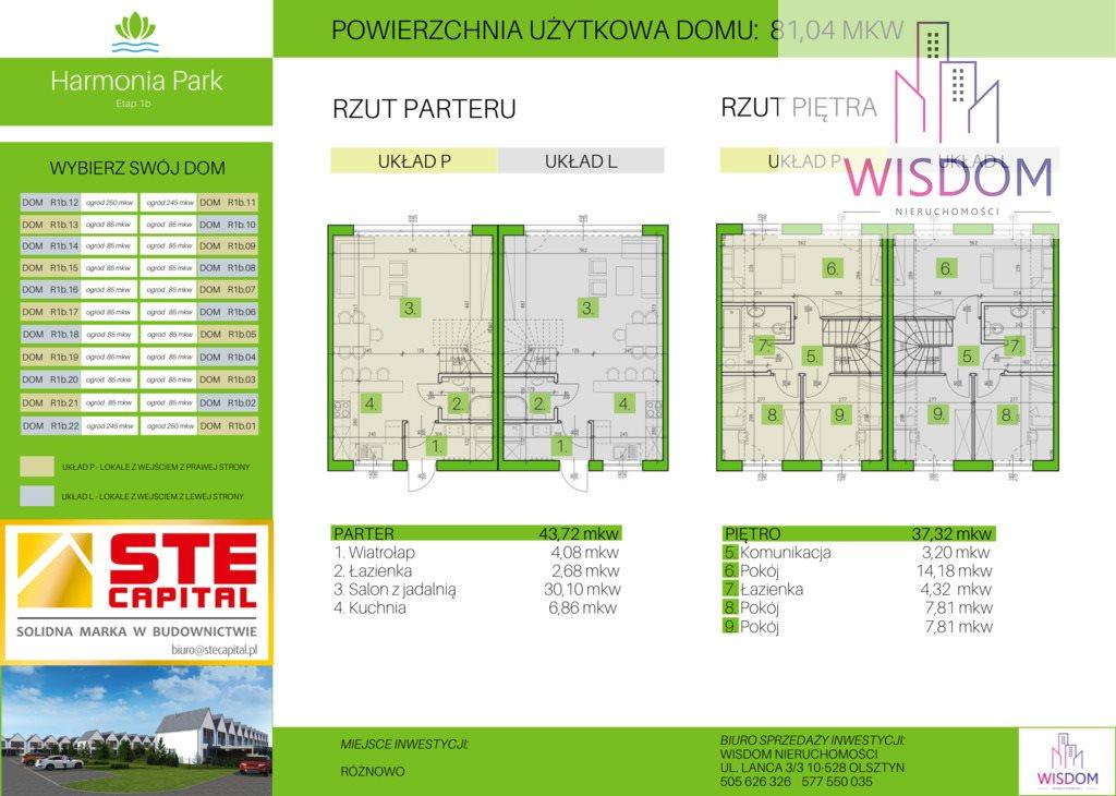 Mieszkanie czteropokojowe  na sprzedaż Olsztyn  85m2 Foto 6