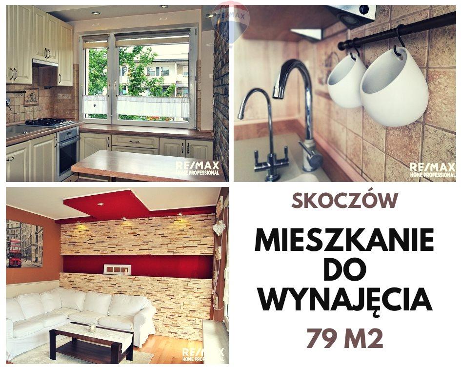 Mieszkanie czteropokojowe  na wynajem Skoczów, Gustawa Morcinka  79m2 Foto 1