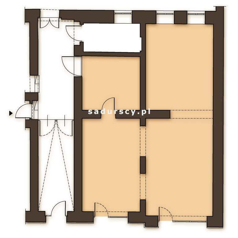 Mieszkanie czteropokojowe  na sprzedaż Kraków, Podgórze, Stare Podgórze, Kalwaryjska  81m2 Foto 3