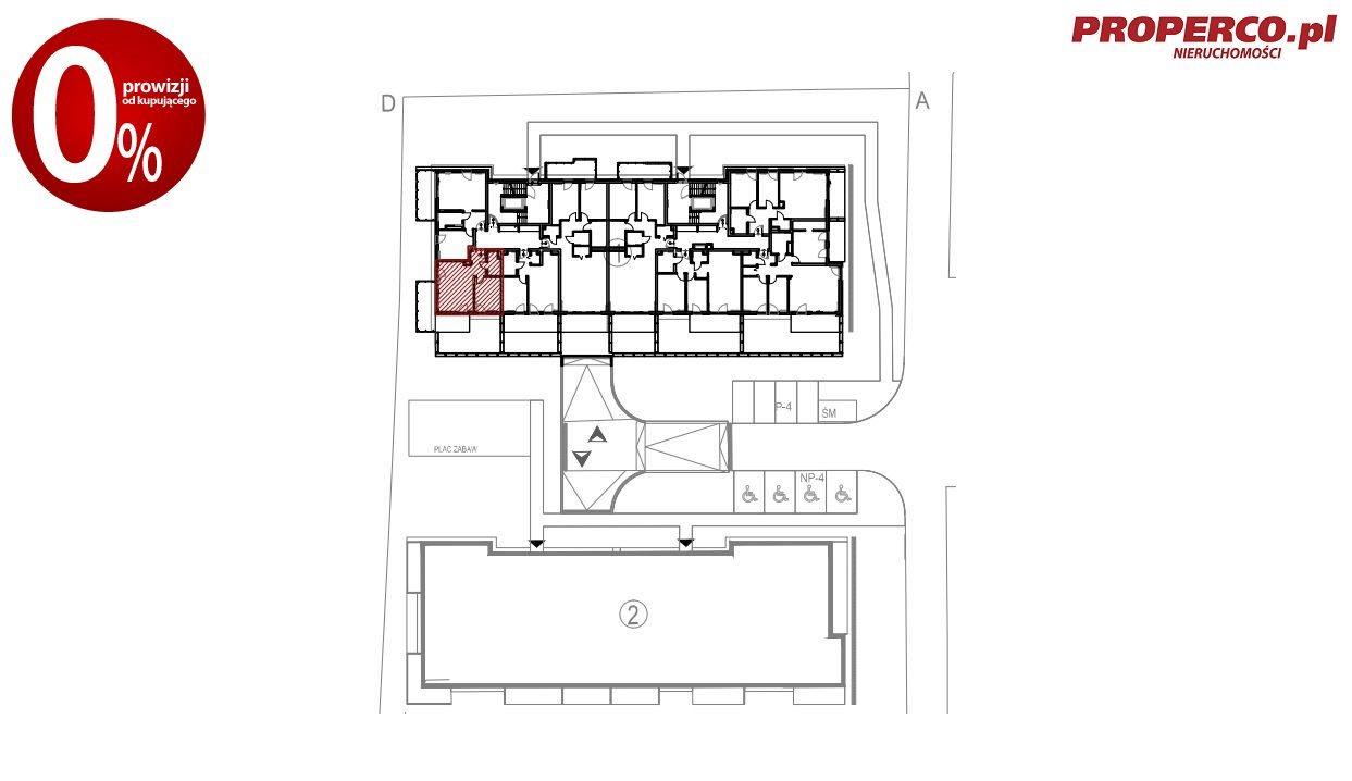 Mieszkanie trzypokojowe na sprzedaż Kielce, Baranówek  107m2 Foto 5