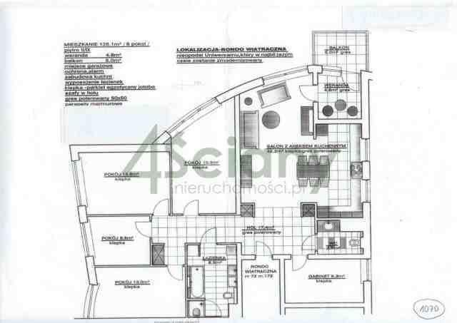 Mieszkanie na sprzedaż Warszawa, Praga-Południe, Grochów, al. Stanów Zjednoczonych  140m2 Foto 1