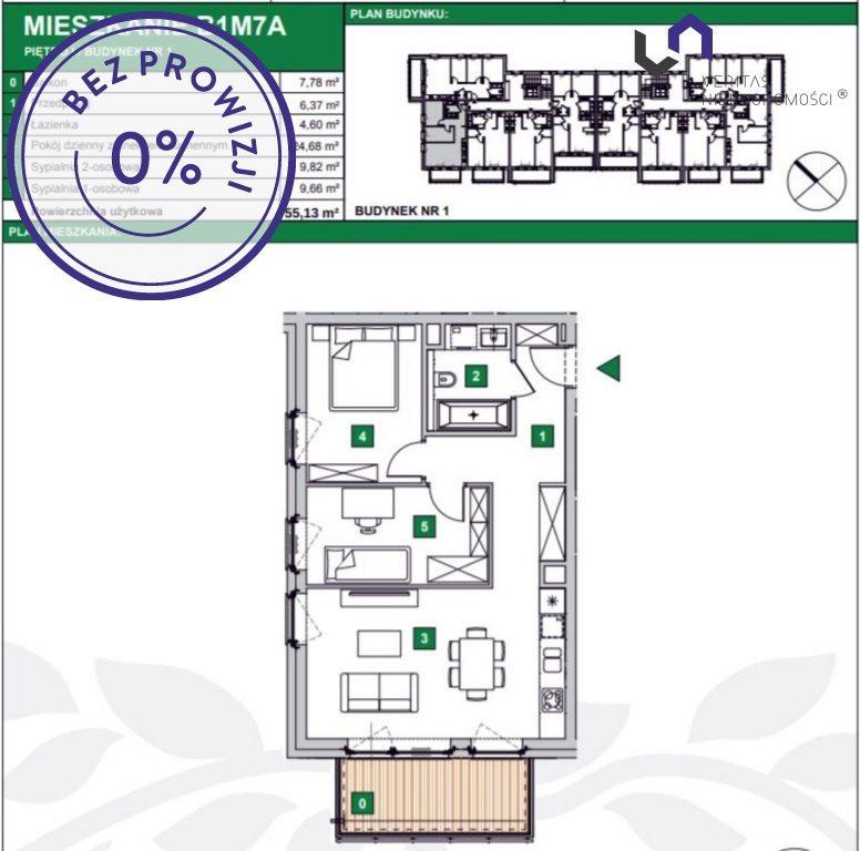 Mieszkanie trzypokojowe na sprzedaż Katowice, Podlesie, Armii Krajowej  55m2 Foto 2