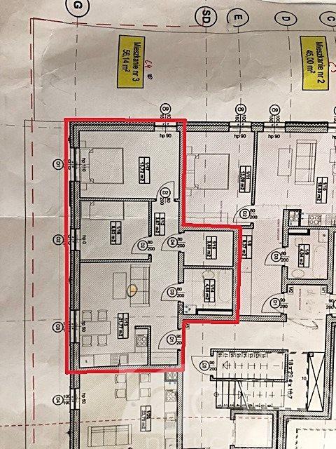Mieszkanie trzypokojowe na sprzedaż Stargard  56m2 Foto 1