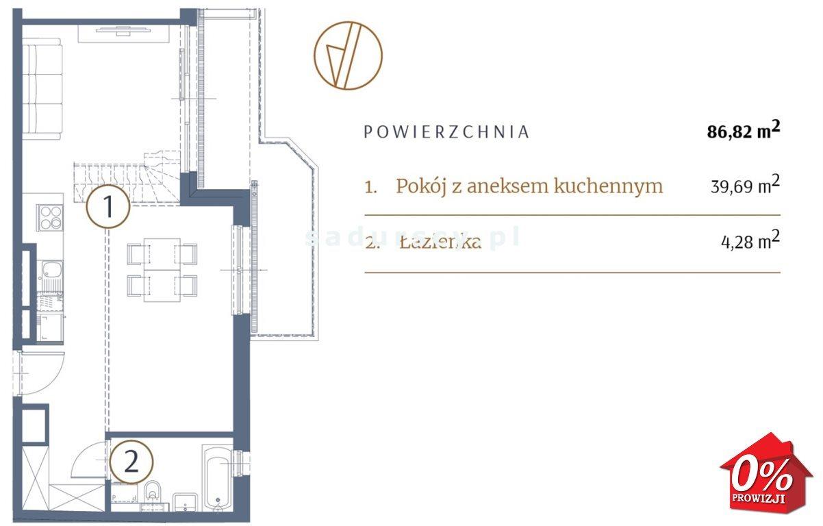 Mieszkanie dwupokojowe na sprzedaż Kraków, Stare Miasto, Kleparz, Sławkowska - okolice  87m2 Foto 3