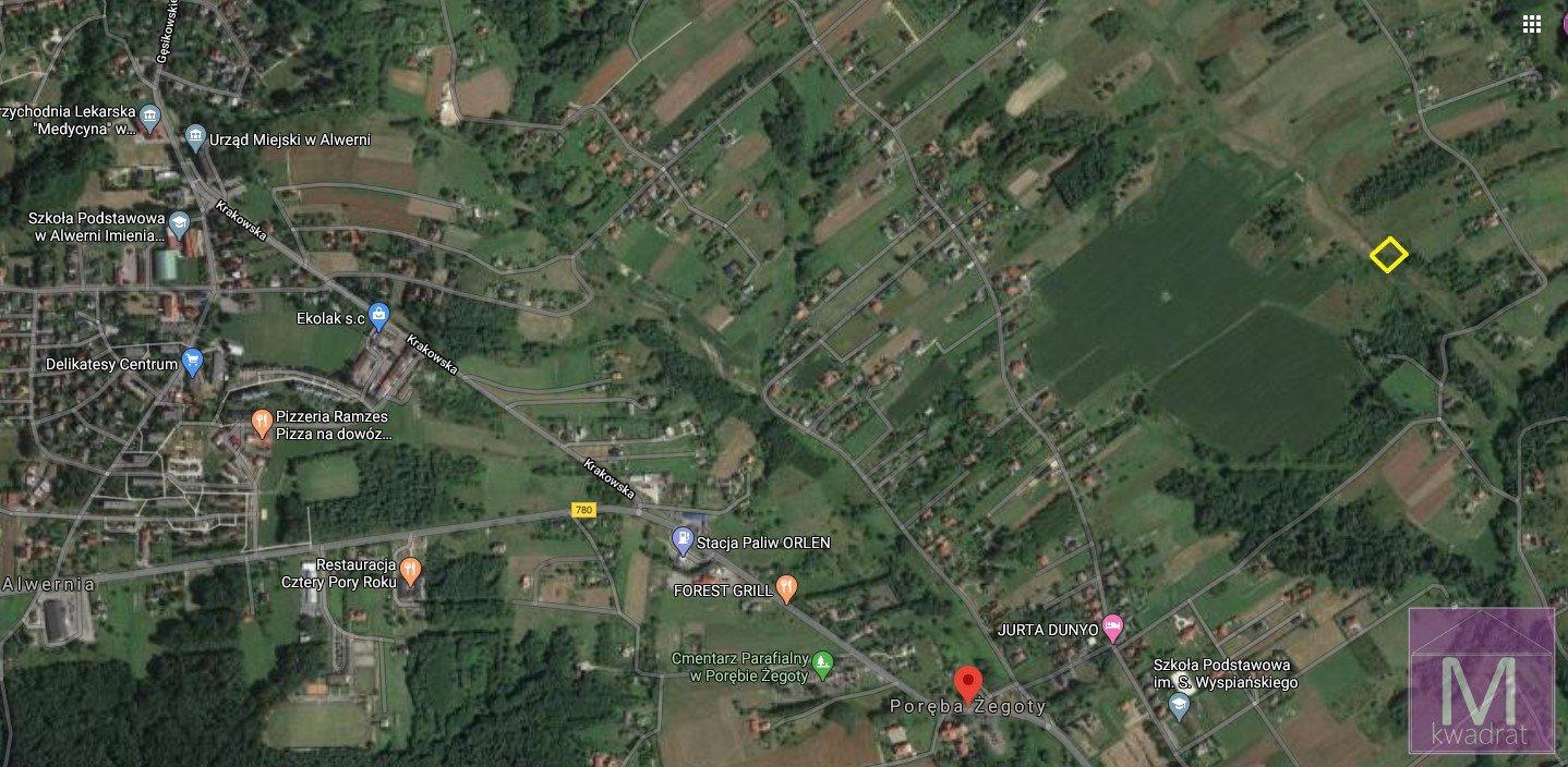 Działka rolna na sprzedaż Poręba Żegoty  1000m2 Foto 1