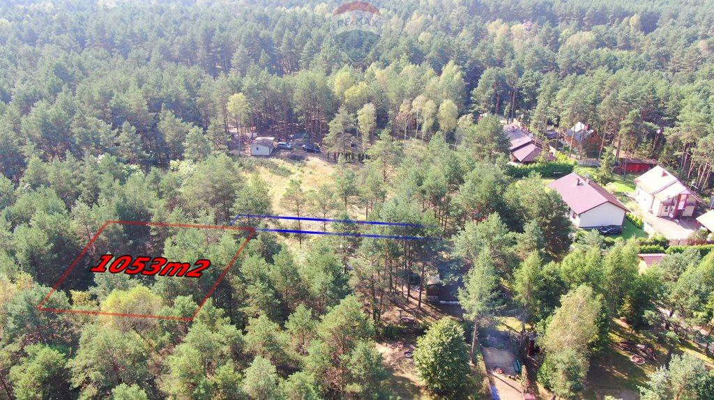 Działka rekreacyjna na sprzedaż Hutki-Kanki, Poziomkowa  1053m2 Foto 5