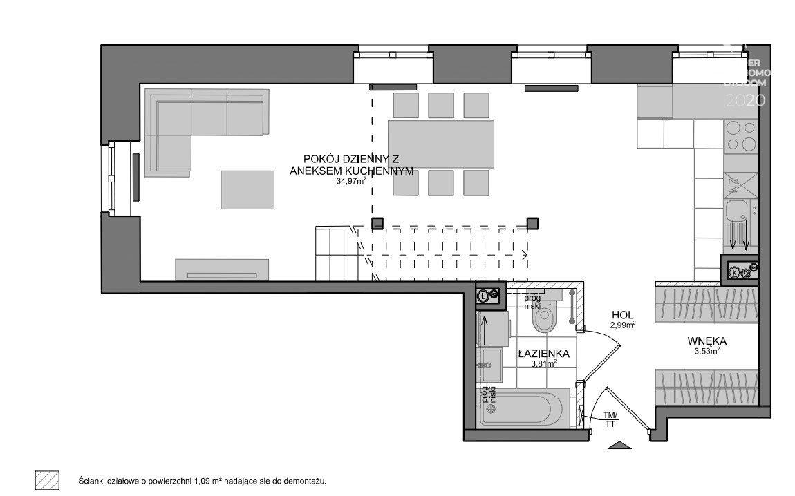 Mieszkanie trzypokojowe na sprzedaż Gdańsk, Wrzeszcz, Adama Mickiewicza  76m2 Foto 6