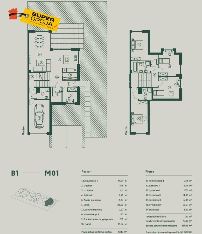 Dom na sprzedaż Balice, Aleja Jurajska  167m2 Foto 9