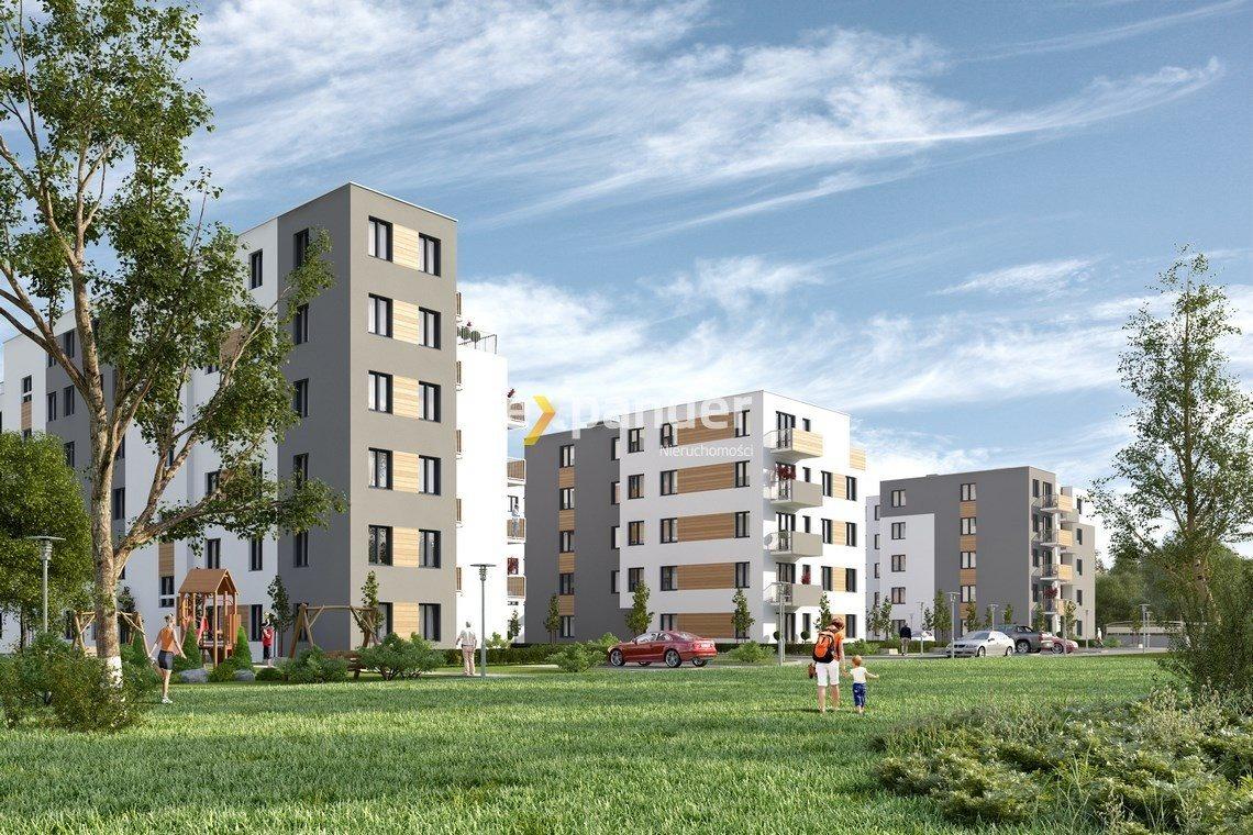 Mieszkanie trzypokojowe na sprzedaż Poznań, Naramowice, Karpia  47m2 Foto 1