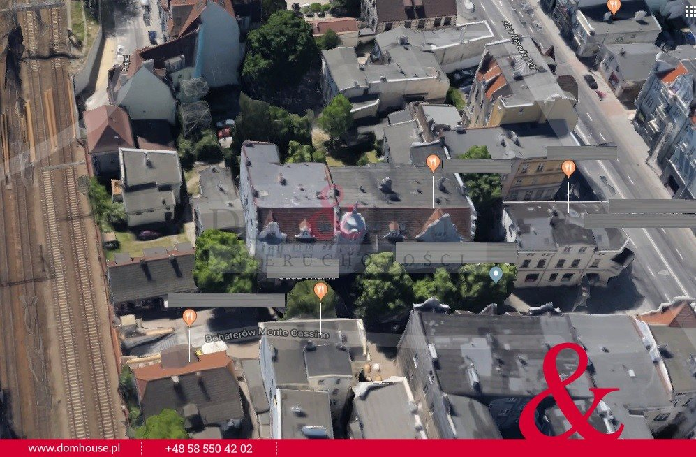Lokal użytkowy na sprzedaż Sopot, Centrum, Bohaterów Monte Cassino  160m2 Foto 1