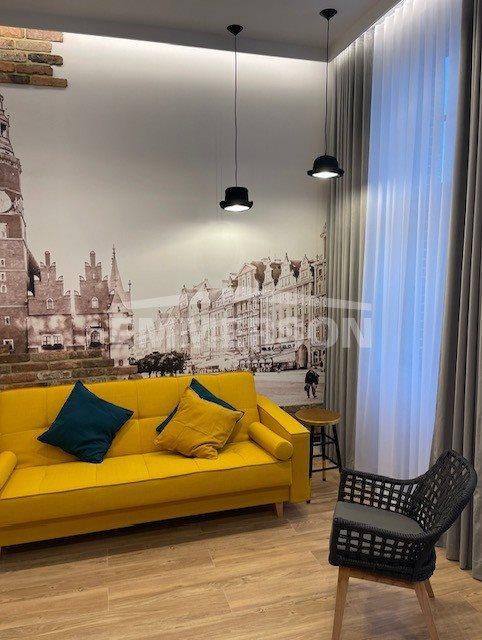 Mieszkanie dwupokojowe na wynajem Wrocław, Śródmieście  48m2 Foto 10