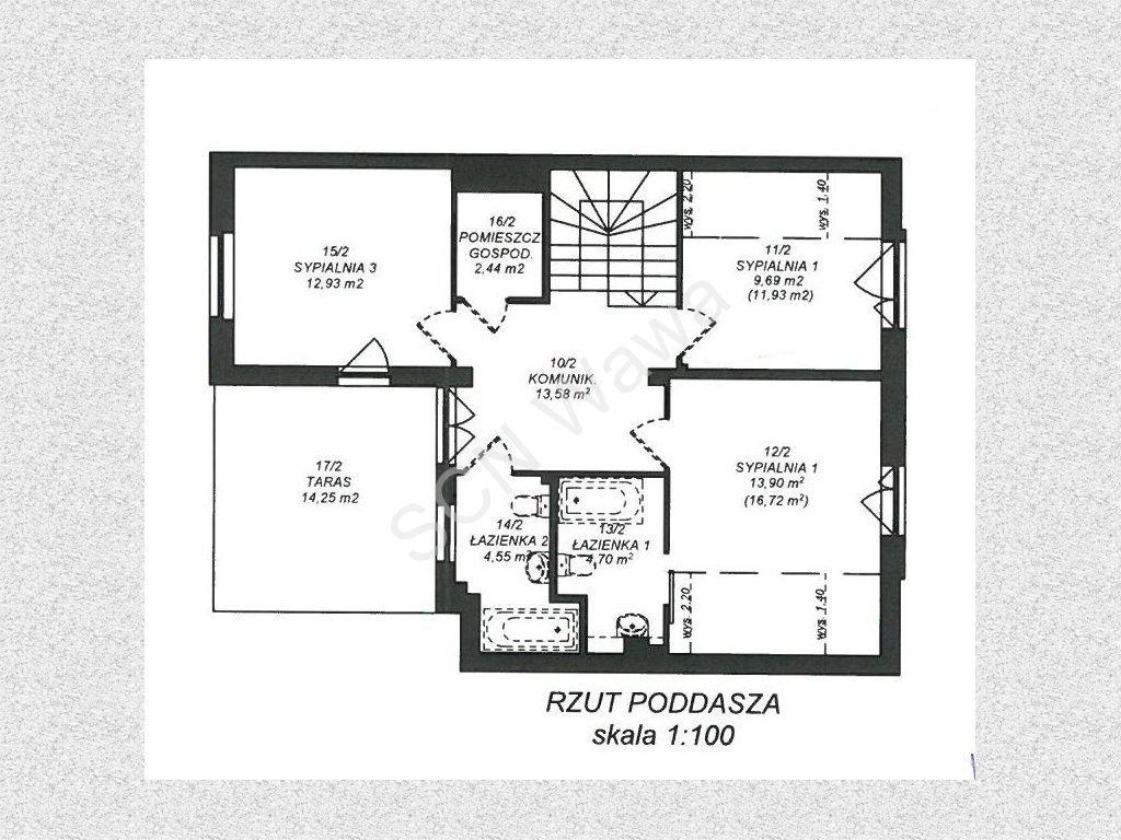 Mieszkanie czteropokojowe  na sprzedaż Łomianki, Łąkowa  123m2 Foto 4