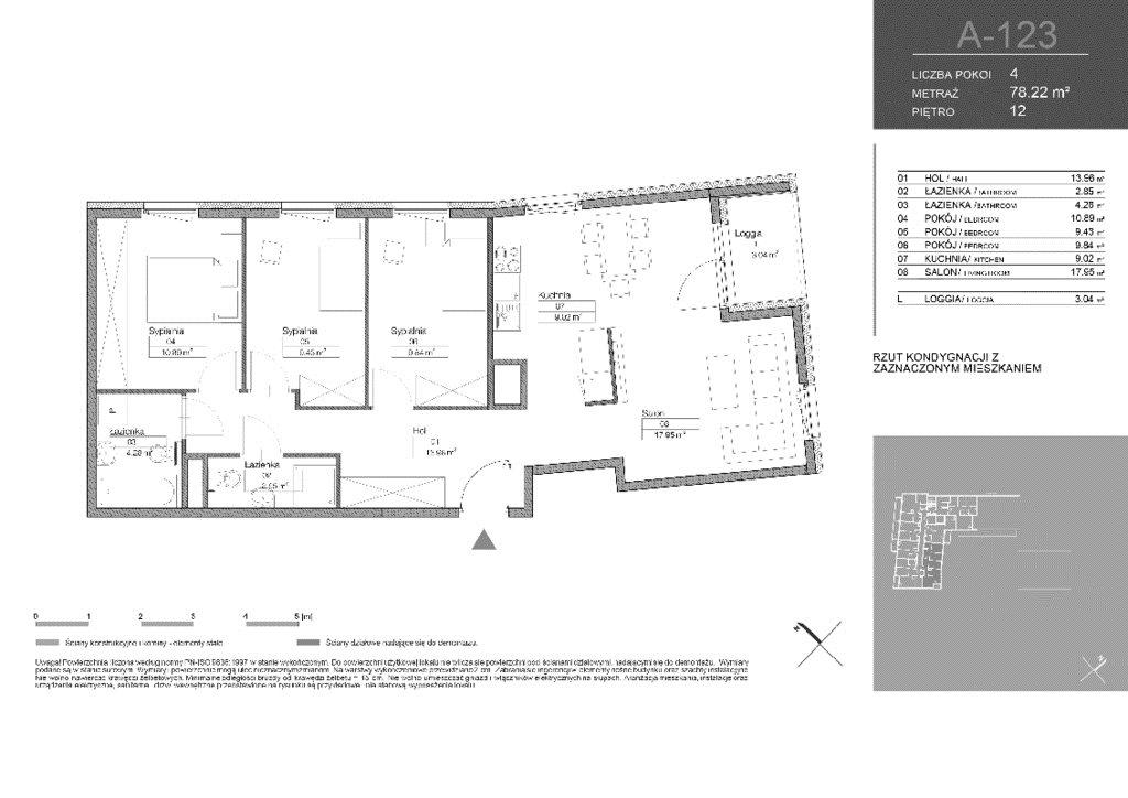 Mieszkanie czteropokojowe  na sprzedaż Warszawa, Białołęka, Tarchomin, Józefa Mehoffera  78m2 Foto 2