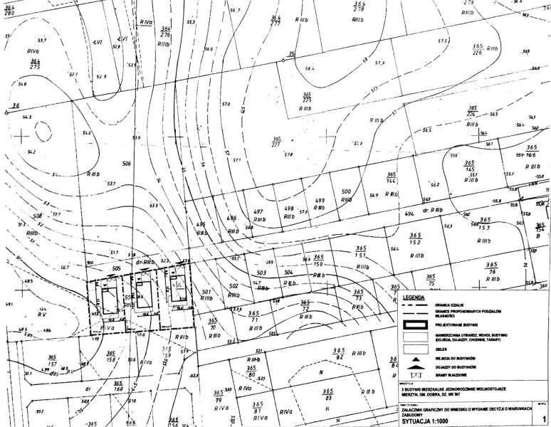 Działka rolna na sprzedaż Mierzyn, ---  2597m2 Foto 1