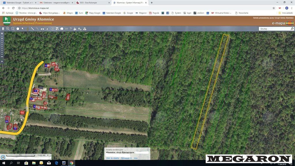 Działka leśna na sprzedaż Rzerzęczyce  25401m2 Foto 1
