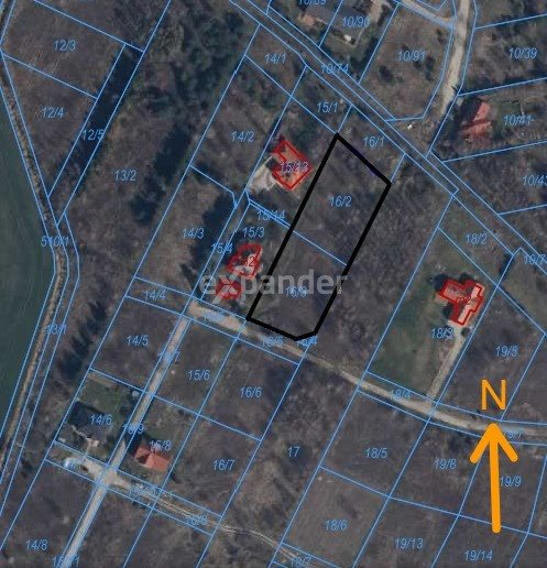 Działka budowlana na sprzedaż Miłoszyce, Bukowa  3041m2 Foto 1