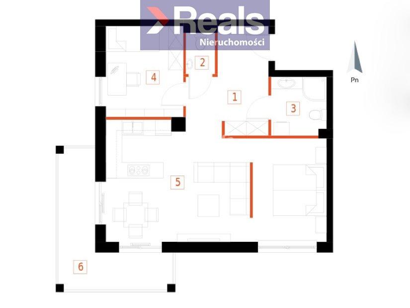 Mieszkanie trzypokojowe na sprzedaż Przemyśl, Bakończyce, Żołnierzy I Armii Wojska Polskiego  60m2 Foto 1