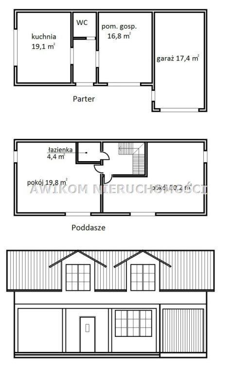 Dom na sprzedaż Skierniewice, Mokra Prawa  111m2 Foto 1