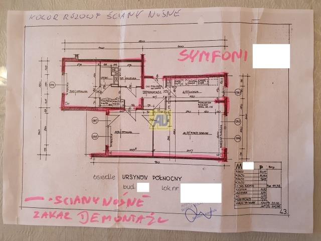 Mieszkanie trzypokojowe na sprzedaż Warszawa, Ursynów, Ursynów  61m2 Foto 2