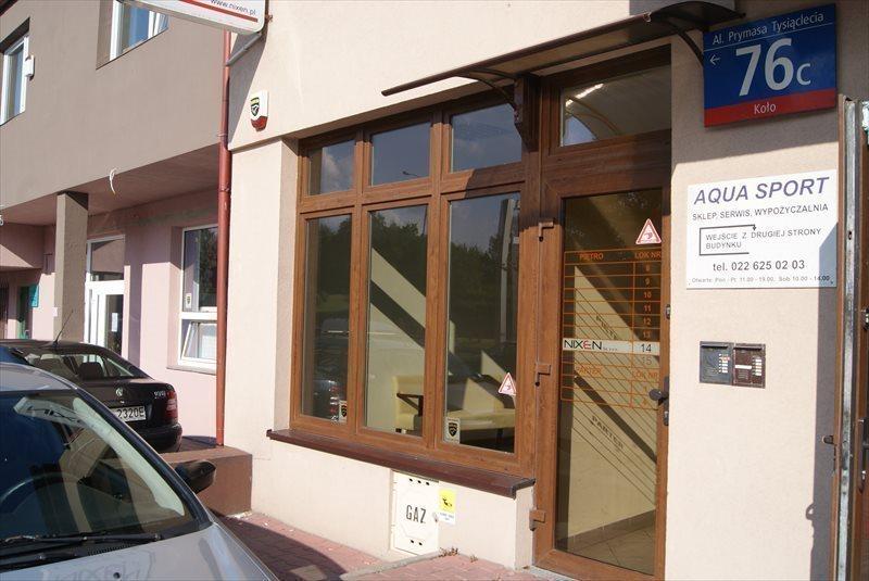 Lokal użytkowy na wynajem Warszawa, Wola, Aleja Prymasa Tysiąclecia 76C  93m2 Foto 2
