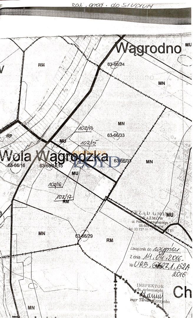 Działka rolna na sprzedaż Wola Wągrodzka, Ogrodowa  1000m2 Foto 11
