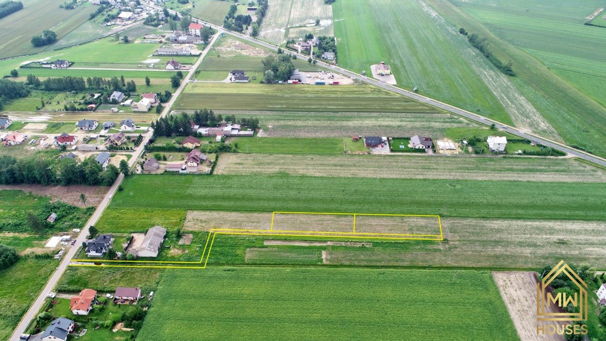 Działka rolna na sprzedaż Sokołów Podlaski, Łowiecka  1058m2 Foto 1