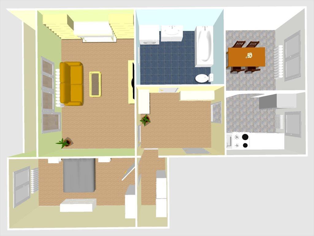 Mieszkanie trzypokojowe na sprzedaż Sosnowiec, Zagórze, Koszalińska  71m2 Foto 1
