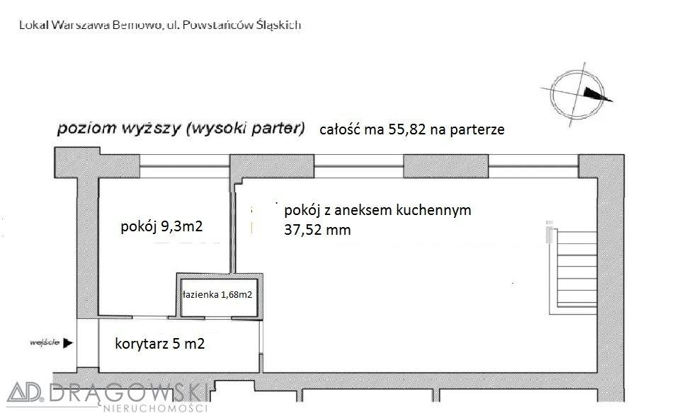 Lokal użytkowy na sprzedaż Warszawa, Bemowo, Jelonki, Powstańców Śląskich  118m2 Foto 3