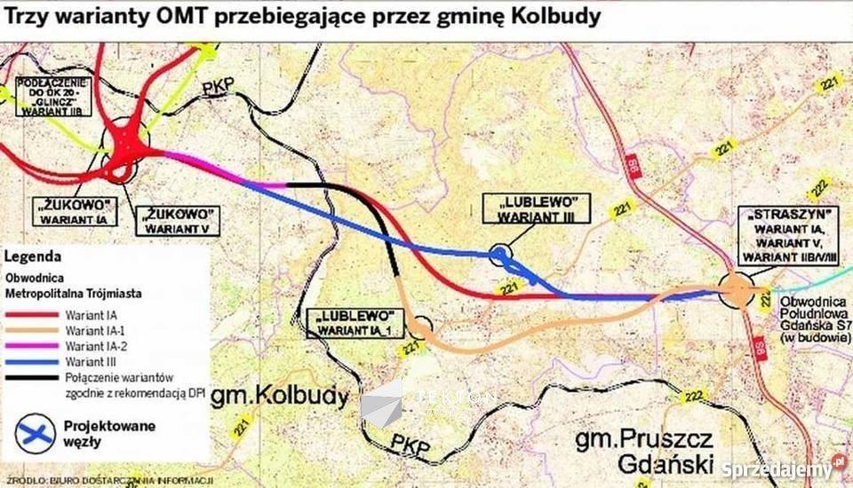 Działka inwestycyjna na sprzedaż Lublewo Gdańskie, Szkolna  3205m2 Foto 1