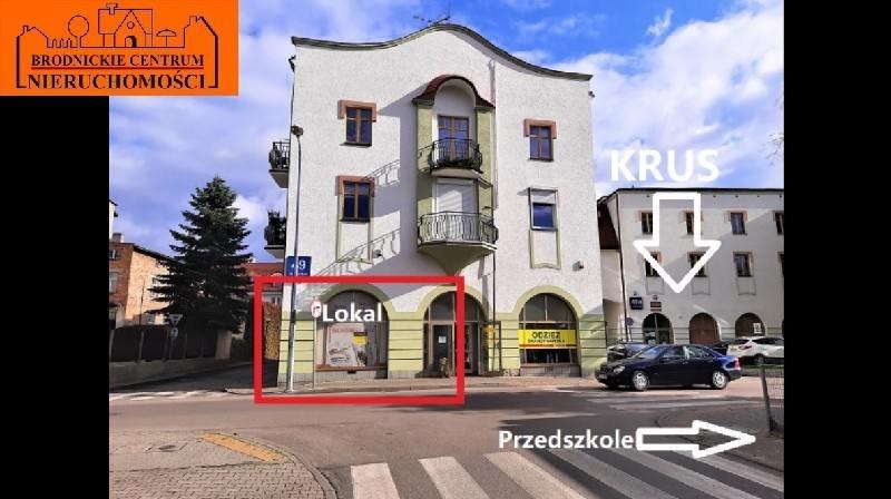 Lokal użytkowy na wynajem polska, Brodnica, Centrum  75m2 Foto 2