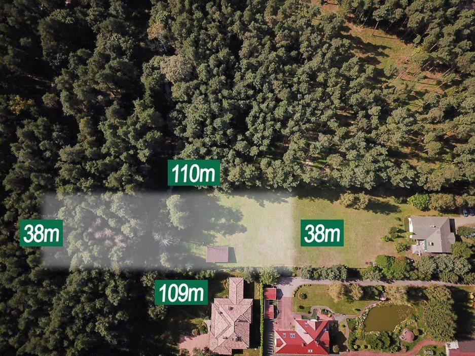 Działka budowlana na sprzedaż Wiązowna, Duchnowska  4200m2 Foto 6