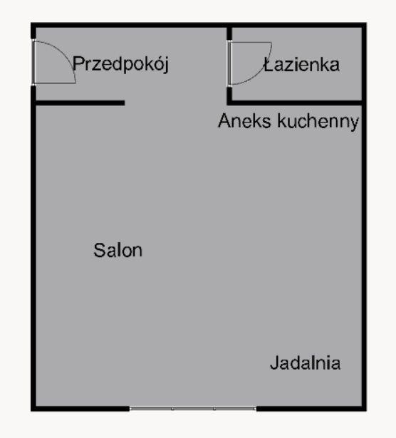 Kawalerka na wynajem Kraków, Salwator, Salwator, rtm. Zbigniewa Dunin-Wąsowicza  35m2 Foto 8