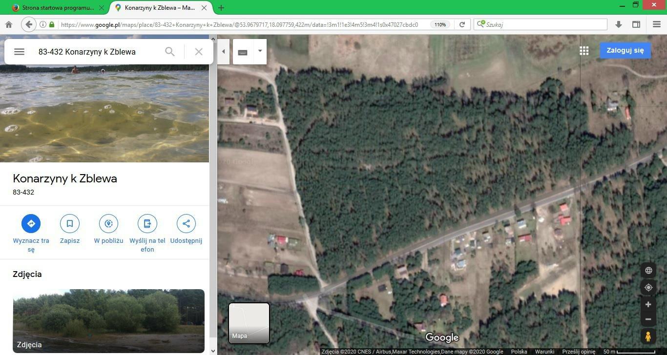 Działka leśna na sprzedaż Konarzyny  19200m2 Foto 2