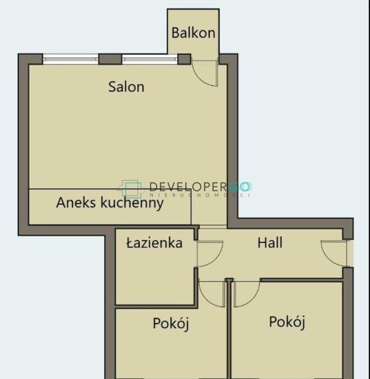 Mieszkanie trzypokojowe na sprzedaż Białystok, Os. Piasta, Skorupska  49m2 Foto 8