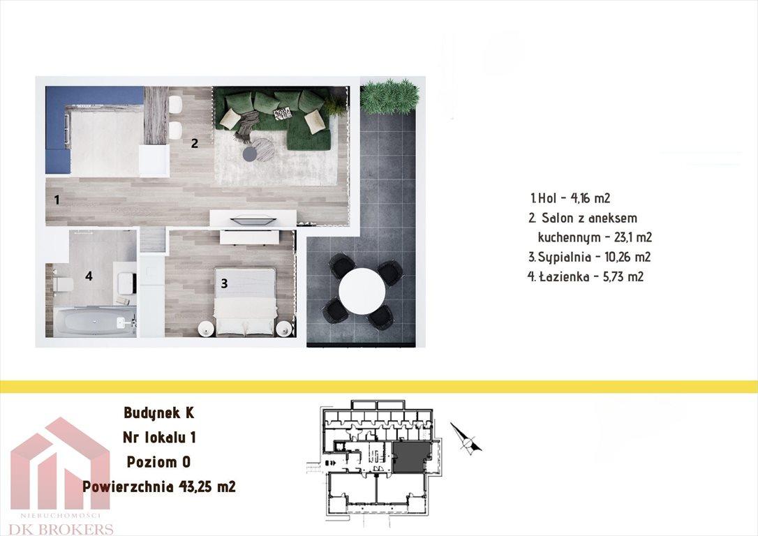 Mieszkanie dwupokojowe na sprzedaż Rzeszów, Staroniwa, Staroniwska  43m2 Foto 2
