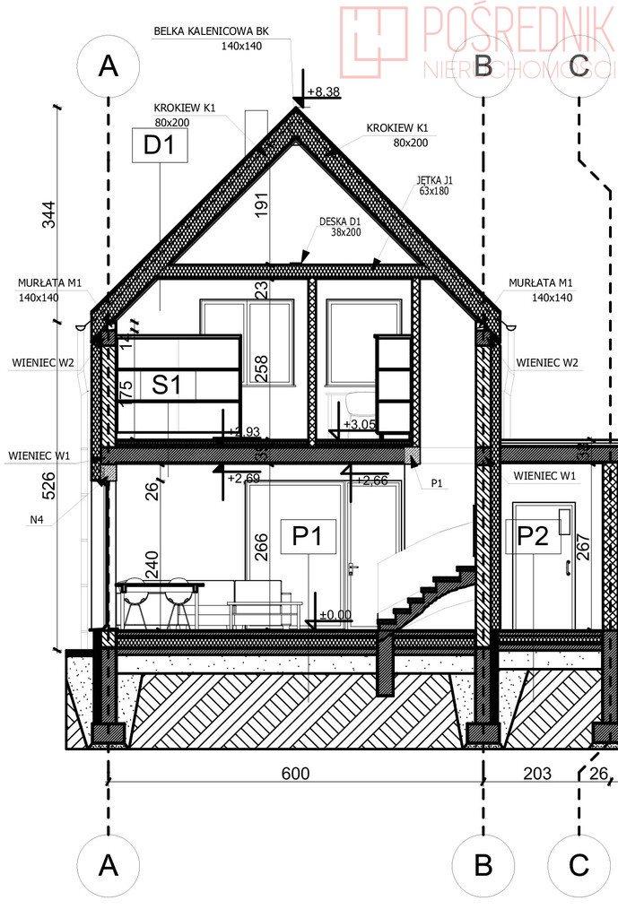 Dom na sprzedaż Lipnik  133m2 Foto 10