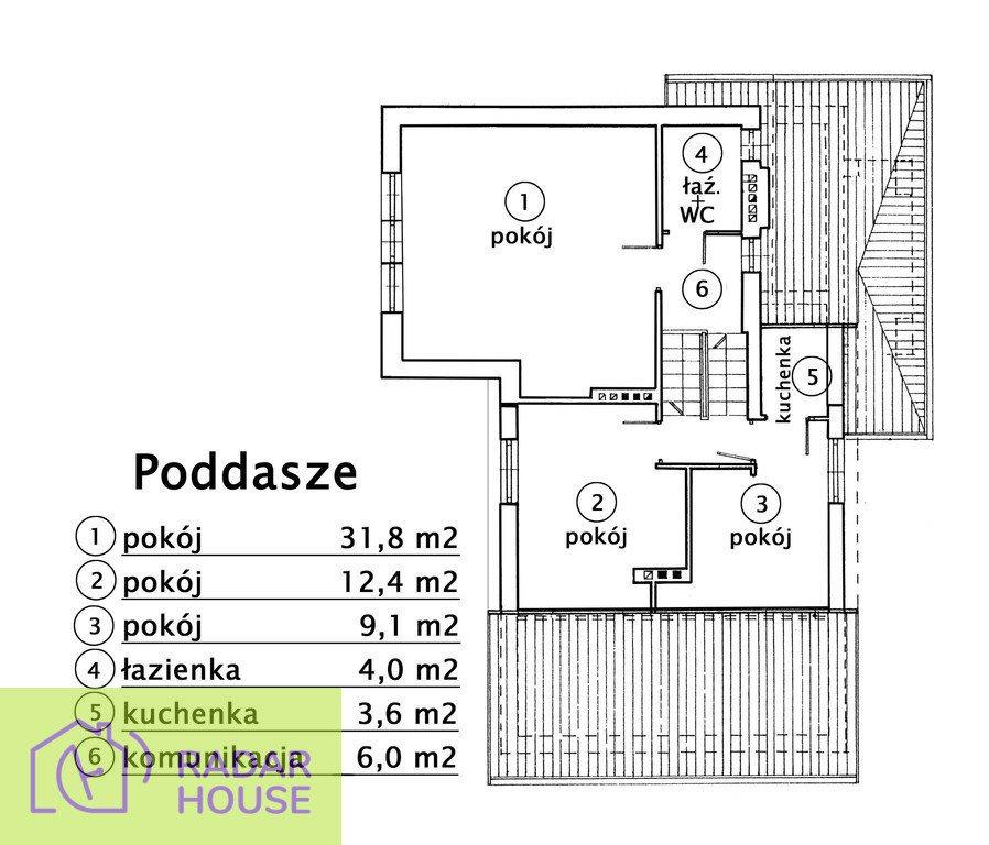 Dom na wynajem Warszawa, Ochota, Szczęśliwice  210m2 Foto 6
