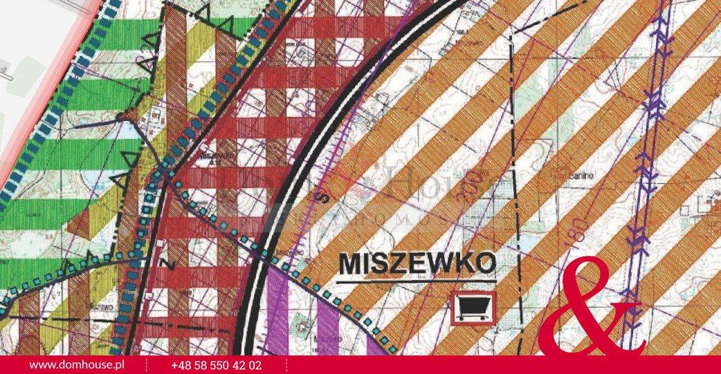 Działka inwestycyjna na sprzedaż Miszewko  62878m2 Foto 5