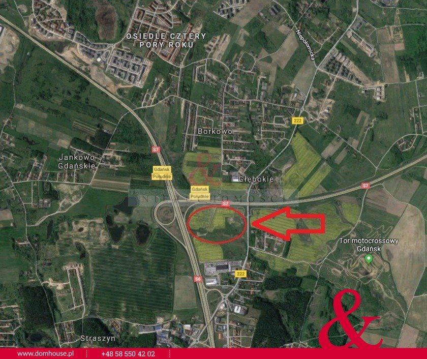 Działka przemysłowo-handlowa na sprzedaż Borkowo, Starogardzka  80000m2 Foto 4