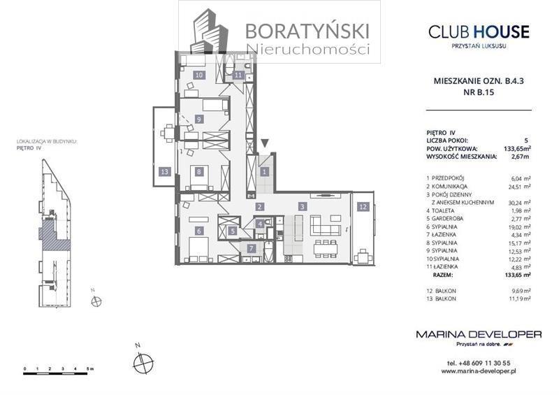 Mieszkanie na sprzedaż Szczecin, Dąbie, Dąbie, Przestrzenna  134m2 Foto 4