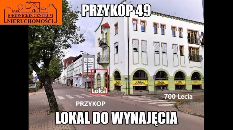 Lokal użytkowy na wynajem polska, Brodnica, Centrum  75m2 Foto 1